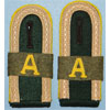 Army Signal Intelligence Units Unteroffizier Shoulder Boards