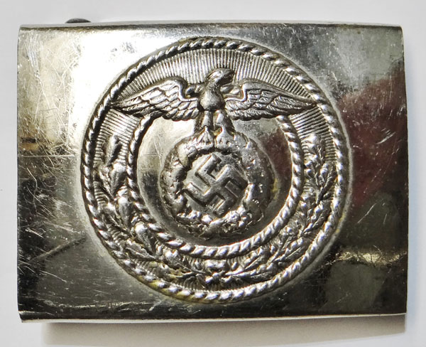 German Police NCO/EM Dress Buckle