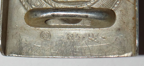 DAF NCO/EM Buckle with Paper RZM tag