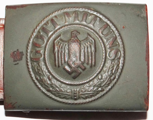 Private Band Member Officers Buckle