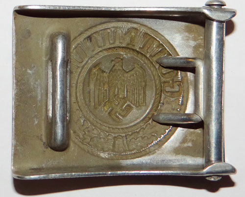 Army De-Nazified Unit Marked NCO/EM Buckle
