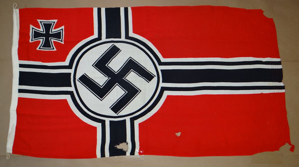 Kriegsmarine Marked Reichskriegs Flag