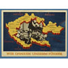 Postcard Commemorating the Annexation of the Sudetenland