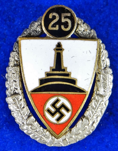 Type II 25 Year Kyffhauserbund Member's Badge