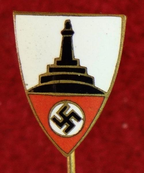 Nazi Kyffhauserbund Member's Stick Pin - German Enamels, Pins