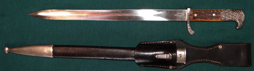 "Schutzpolizei Dress Bayonet by ""Clemen & Jung"""