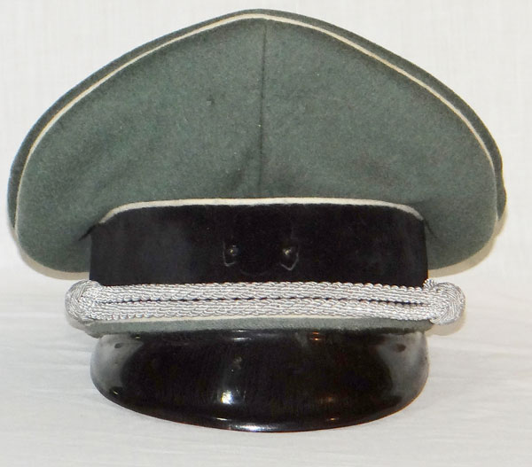 "Army Cavalry Officer Visor Hat by ""Erel"""
