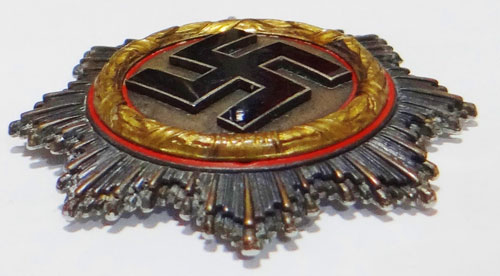 Gold German Cross in Cloth