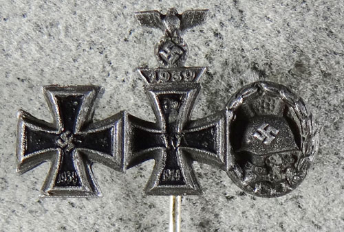 "Number ""26"" Marked WW II Iron Cross 1st Class"