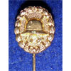 Miniature Gold Wound Badge Stick Pin