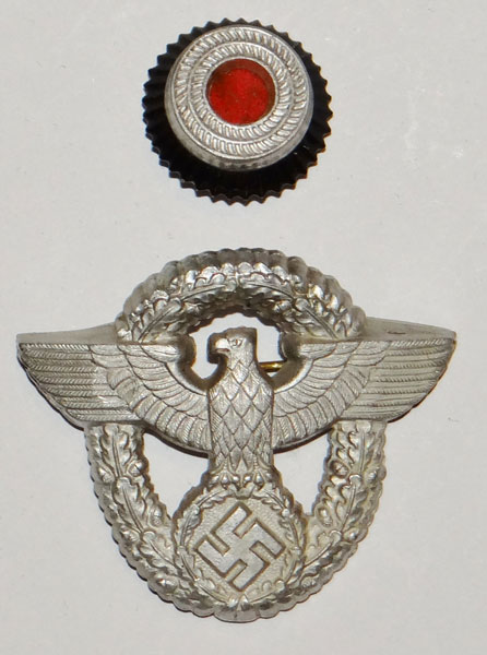 Fire Police Cloth Cap Eagle
