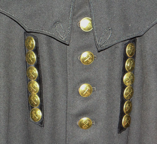Army 20th Regt. Infantry Stabsfeldwebel Overcoat
