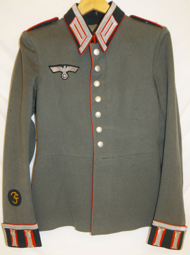 Army Artillery Oberfeldwebel Dress Waffenrock Tunic
