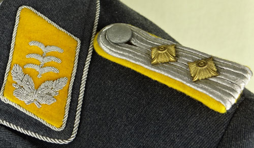 Luftwaffe Hauptmann of Flight Troops Service Tunic