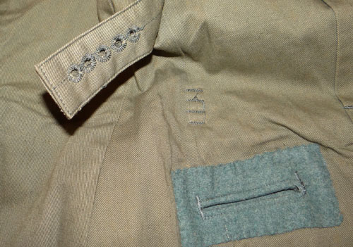 Luftwaffe Leutnant of Flight & Paratroops Service Tunic & Trousers