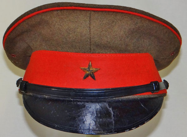 Japanese WW II Army Officers Visor Hat