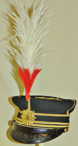 Japanese WW II Army Officers Full Dress Hat