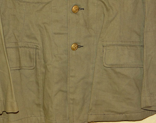 Japanese WW II Naval Landing Forces Officers Tunic