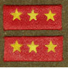 WW II Japanese Army Superior Private Collar Tabs