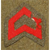 WW II Japanese Army Private Acting Corporal Chevron
