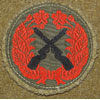 WW II Japanese Army Marksman Cloth Badge