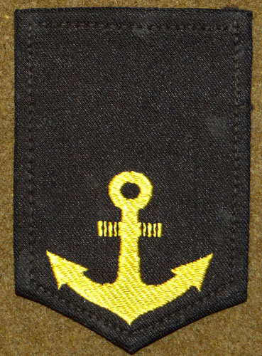 "Japanese Navy WW II ""Seaman"" Sleeve Rank"
