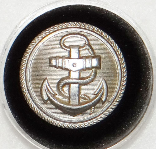 Kriegsmarine Administrative Officials Silver Tunic Button