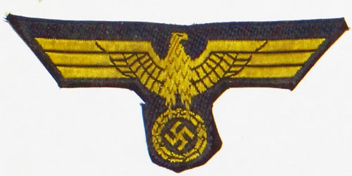 Kriegsmarine French Made TROPICAL Cloth Field Cap Eagle
