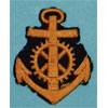 Kriegsmarine NCO Engine Personnel Career Sleeve Insignia