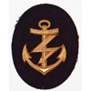 Kriegsmarine NCO Blocking Weapons Career Sleeve Insignia