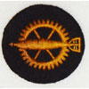 Kriegsmarine Enlisted Ordnance Career Sleeve Insignia