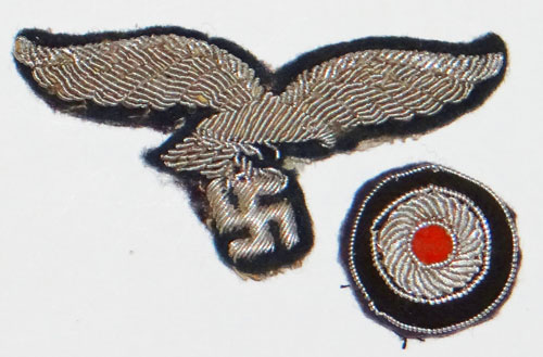 Luftwaffe Late War NCO/EM Visor Hat Eagle