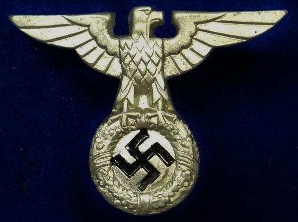 1st Pattern Nazi Visor Hat Eagle - German Misc  Cloth & Metal