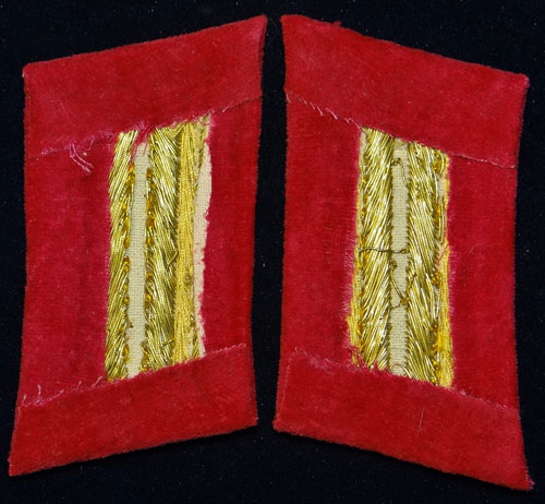 "Reich Level Political Leaders 1934/36 ""Amtsleiter"" Collar Tabs"