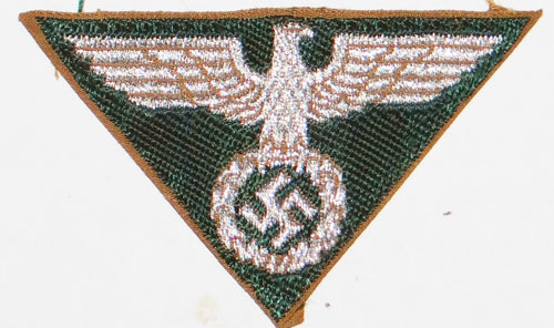 SA-Lagermutze Gold Cap Button