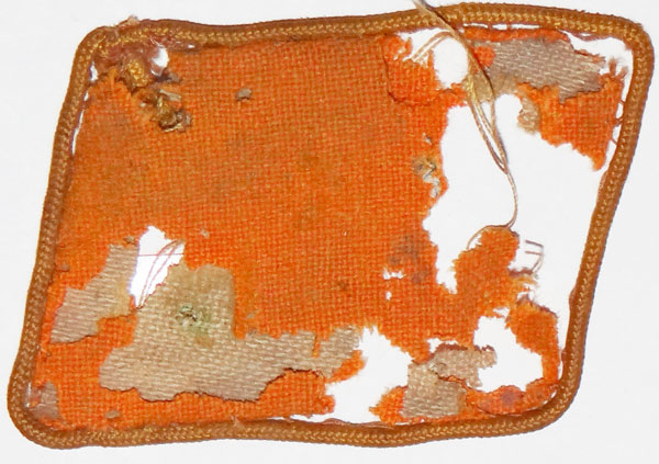 SA 1939 Pattern Collar Tab for Staff Member