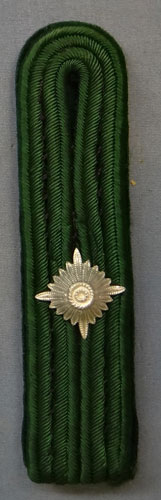 German WW II Forestry Service Official Shoulder Board
