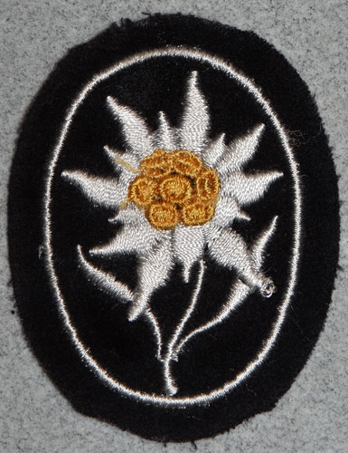 WSS Mountain Troops Sleeve Edelweiss