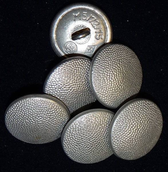 SS Marked Tunic Buttons