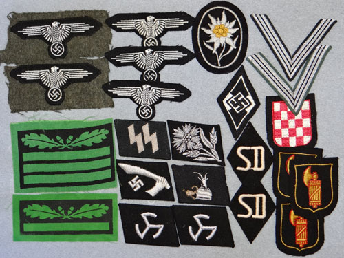 WSS-Untersturmfuhrer Sleeve Rank for Camouflage Clothing