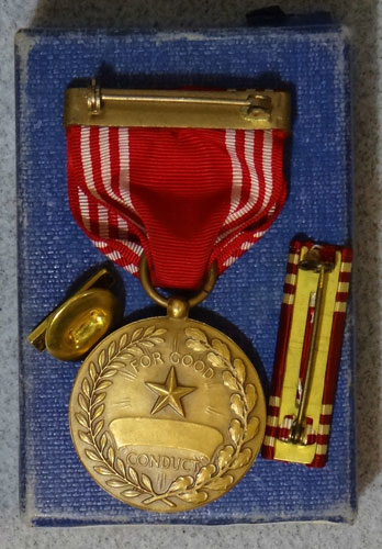 "Numbered Early WW II Army ""Good Conduct"" Medal"