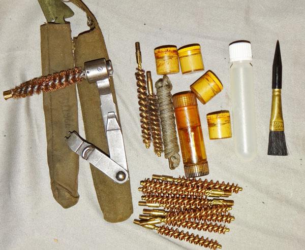 WW II U S  M1 Garand Cleaning Kit Items - US Field Gear - Jessen's