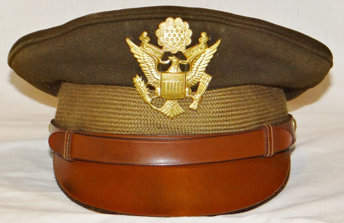 WW II U.S. Army Air Force Aviation Cadet Visor Hat