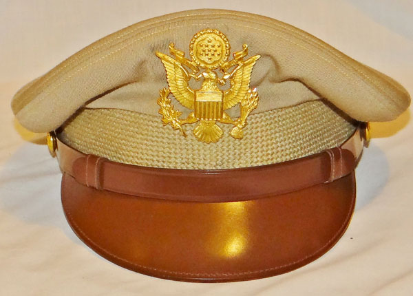WW II U.S. Army Officer Visor Hat
