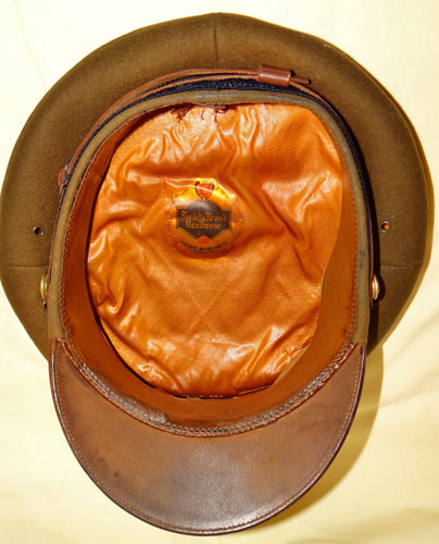 WW II Army Air Force Aviation Cadet Visor Hat
