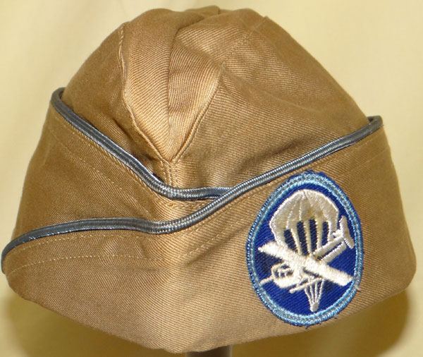 1942 Dated WW II Army Officers Garrison Cap