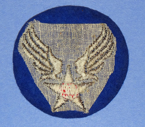 WW II Army Air Force Bullion Wire Shoulder Patch