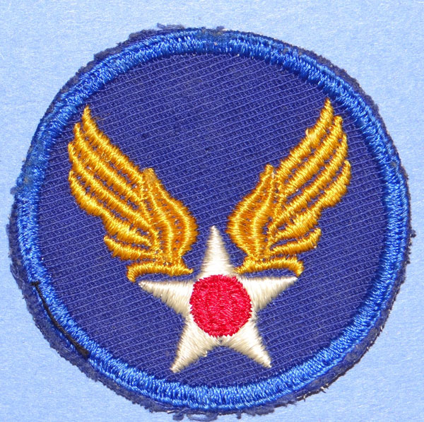 WW II Army Air Force Shoulder Patch