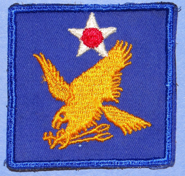 2nd Army Air Force WW II Shoulder Patch