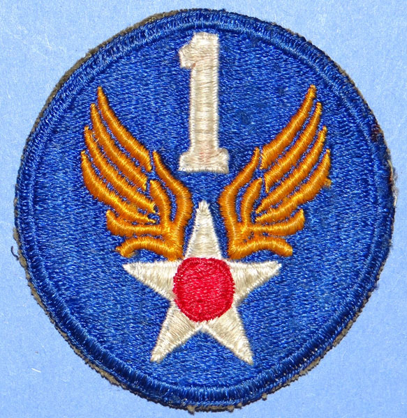 1st USAAF WW II Patch